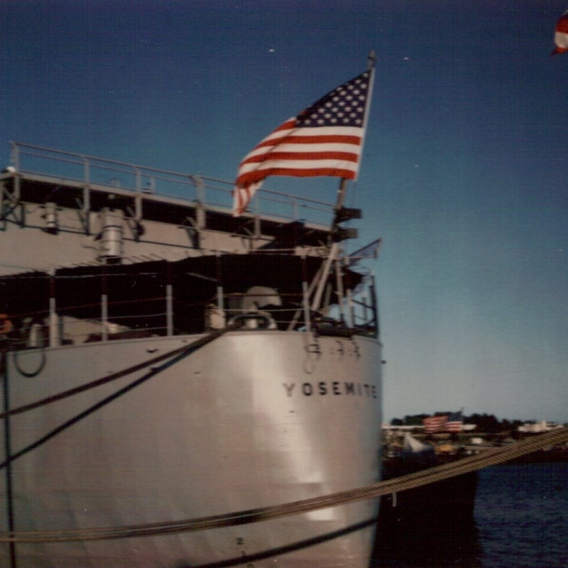 USS Yosemite Photo by Cooper Gilbreath