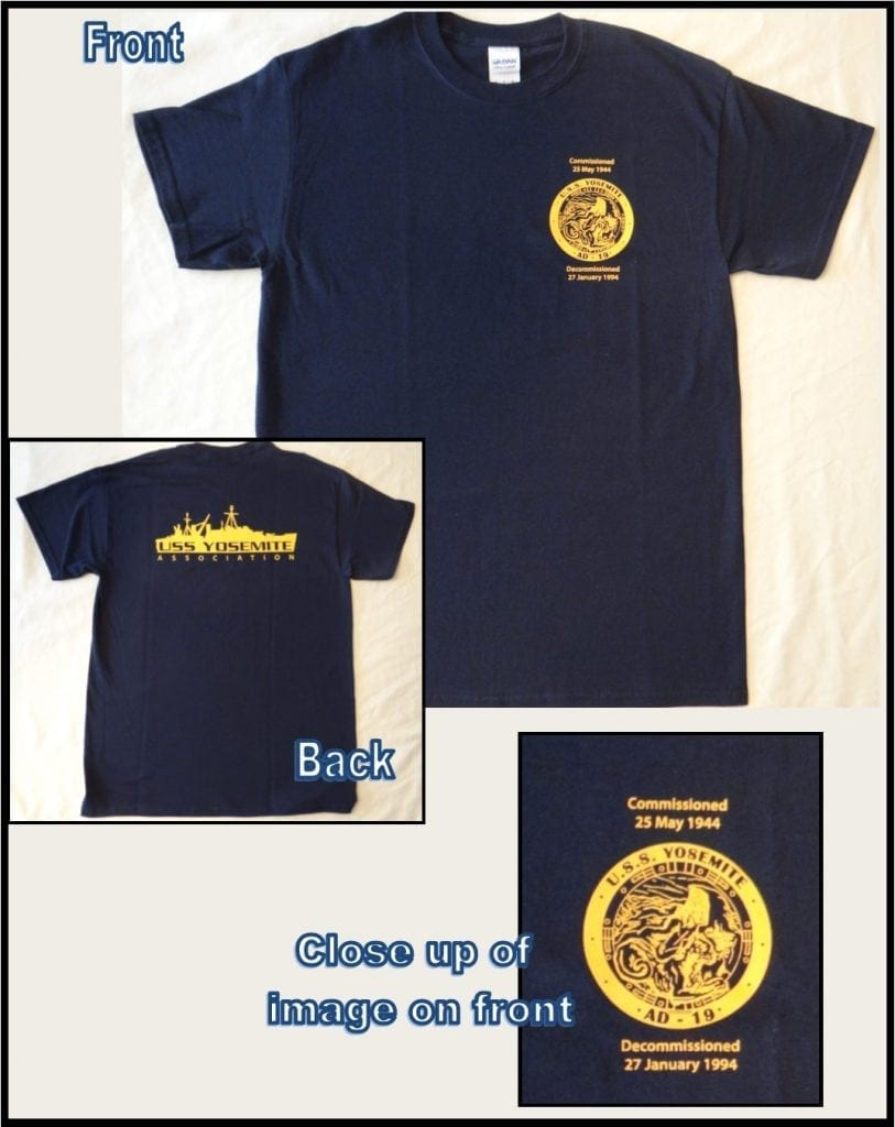 USS Yosemite Association T-Shirt