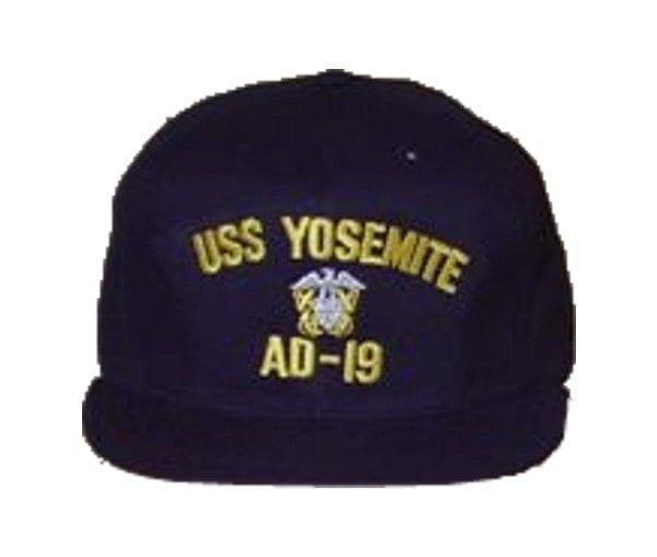 USS Yosemite Officer Hat