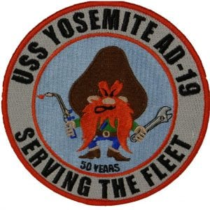USS Yosemite 50 Years Patch