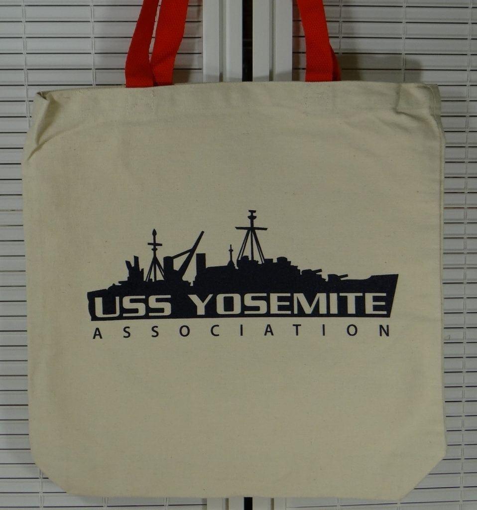 uss yosemite tote bag