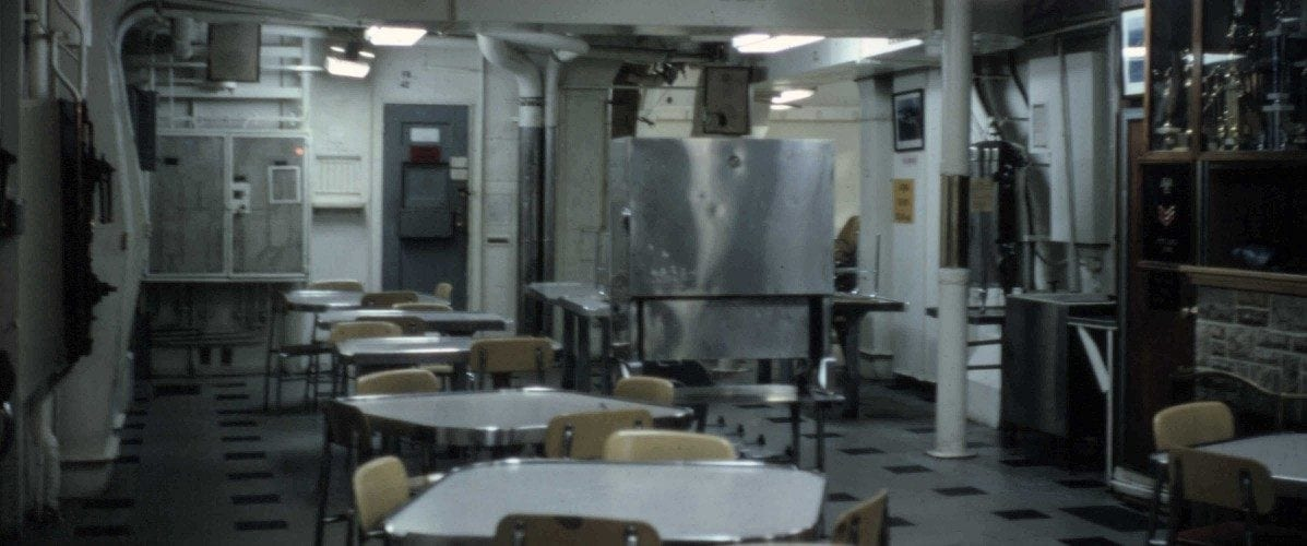 Empty Mess Deck