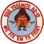 Uss yosemit badge