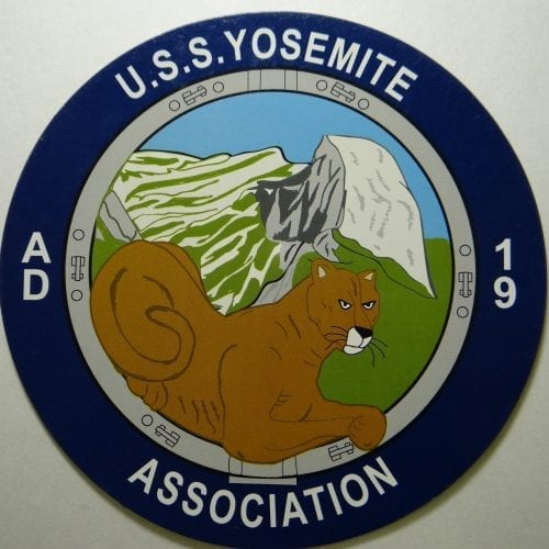 USS Yosemite Seal Car Magnet
