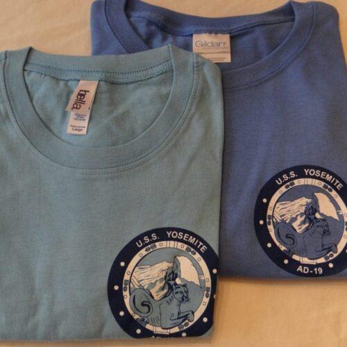Ladies fitted USS Yosemite T-Shirt
