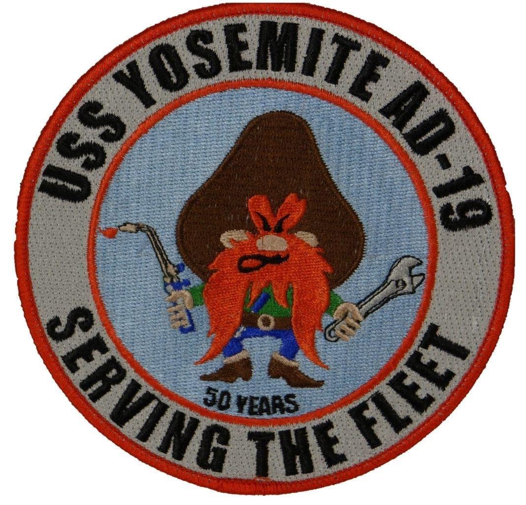 USS Yosemite 50 Years Patch