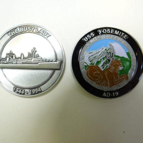 USS Yosemite Challenge Coin