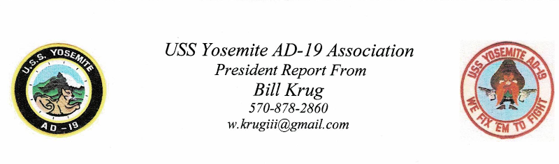 uss yosemite newsletters